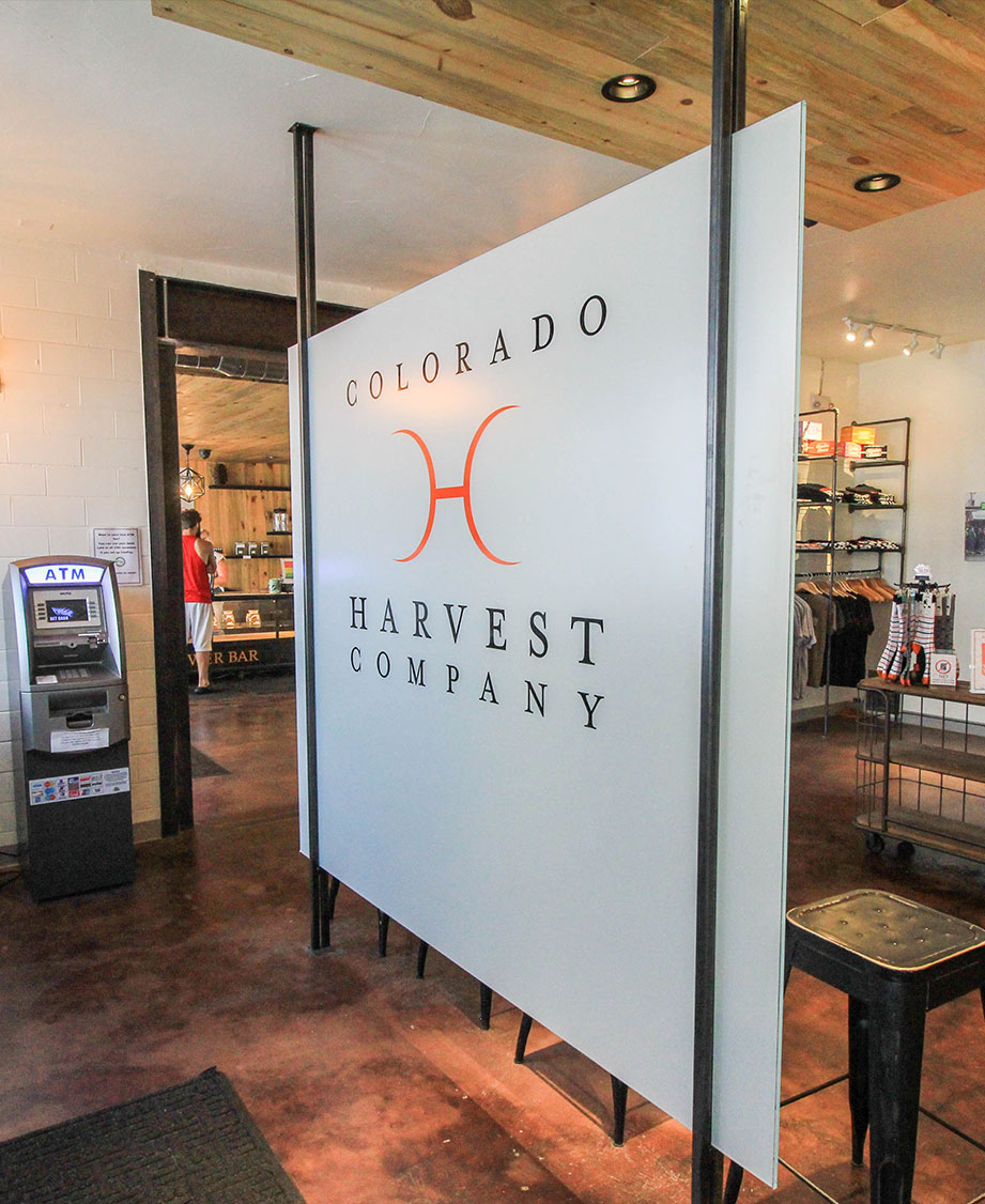 Custom Interior Signs for Harvest Company in Toronto, ON