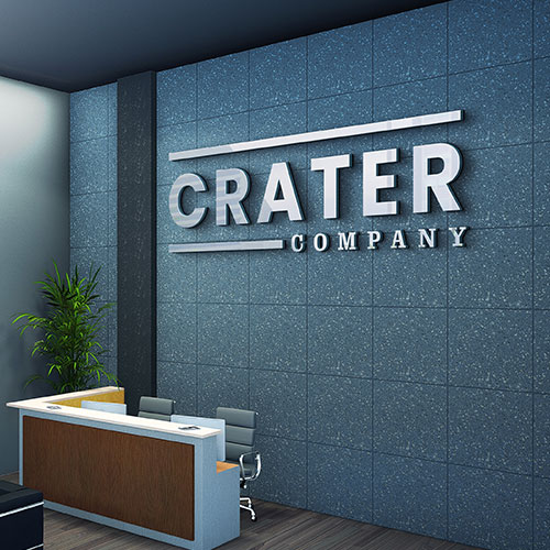 3 Dimensional Sign Letters for Crater Company in Santa Ana, CA