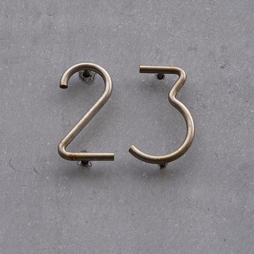 Custom Metal Numbers by Santa Ana Sign Company