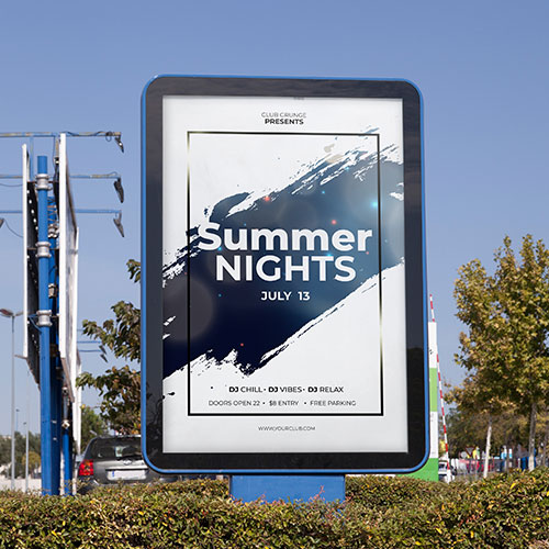Post and Panel Signage for Business in Santa Ana, CA