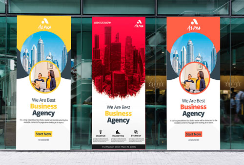 Custom Made Retractable Banner Signage for Business in Santa Ana, CA