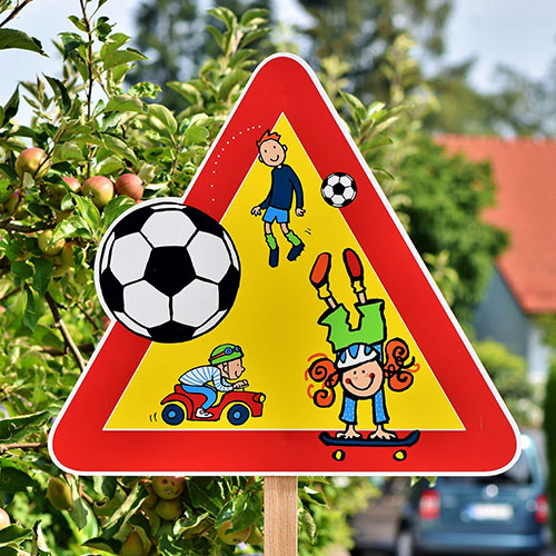 Custom School Signs for Navigation on Street in Santa Ana, CA