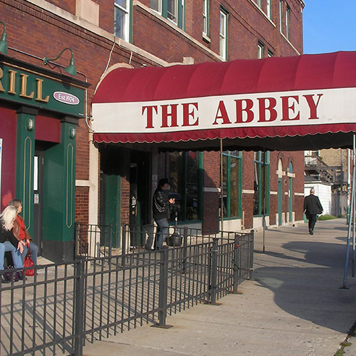 The Abbey Storefront Signage for Business in Santa Ana, CA