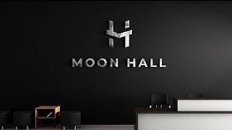 Moon Hall Interior Metal Signs in Santa Ana, CA