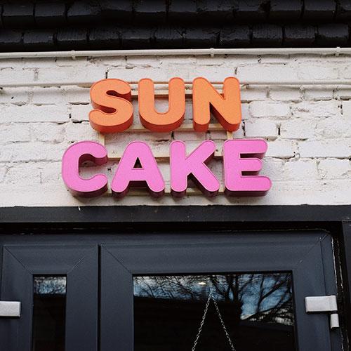 Sun Cake Channel Letter Signs in Santa Ana, CA